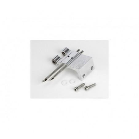 Rudder Bracket/Arm: 1/8 Hydro