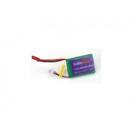 7.4V 300mAh LiPo Battery:...