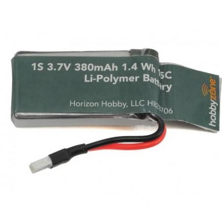 Battery 380mAh 1S 3.7v: Zugo