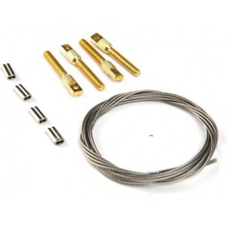 Rudder Cable Set, P3 60cc ARF