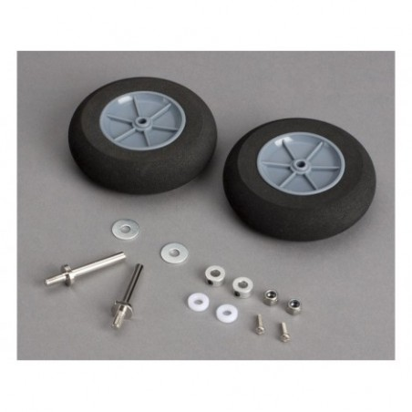 Main Wheels with Axles:...