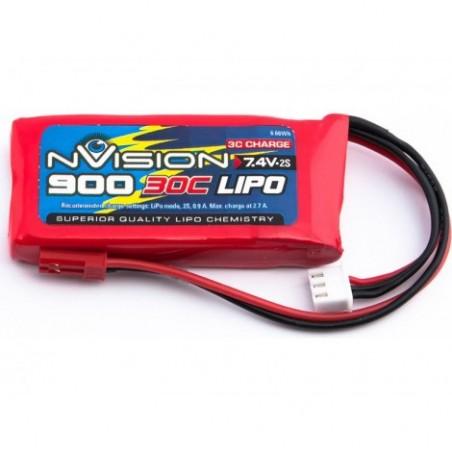 nVision LiPo 2s 7,4V 900 30C