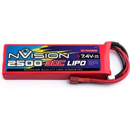 nVision LiPo 2s 7,4V 2500 30C
