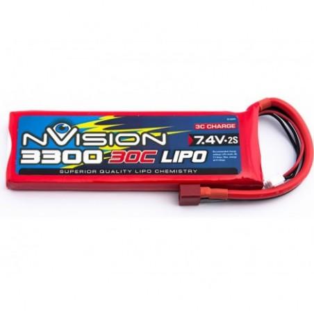 nVision LiPo 2s 7,4V 3300 30C