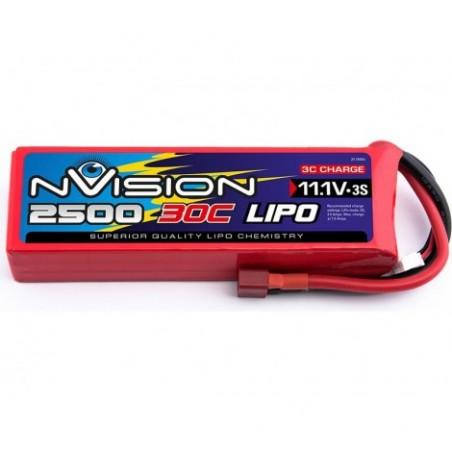 nVision LiPo 3s 11,1V 2500 30C