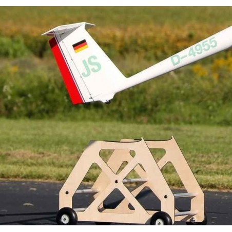 Launch Dolly with Wheels
