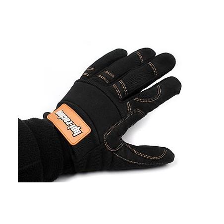 HPI Pit Gloves (Black/Medium)