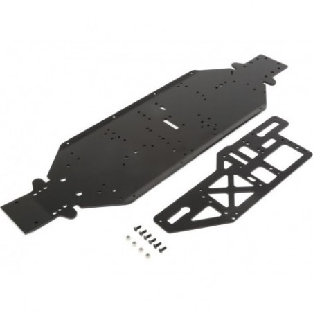 Chassis w/Brace plate, 4mm,...