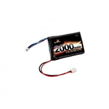 7.4V 2000mAh 2S 20C LiPo:MiniT