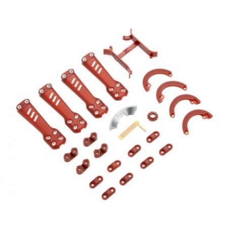 Plastic Kit, Red: Vortex 230