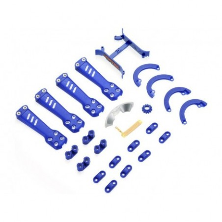 Plastic Kit, Blue: Vortex 230
