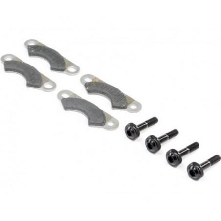 Brake Pads and Screws (4): 8X