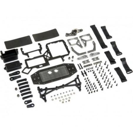 Dual Steering Servo Tray Conversion: 5T,5B