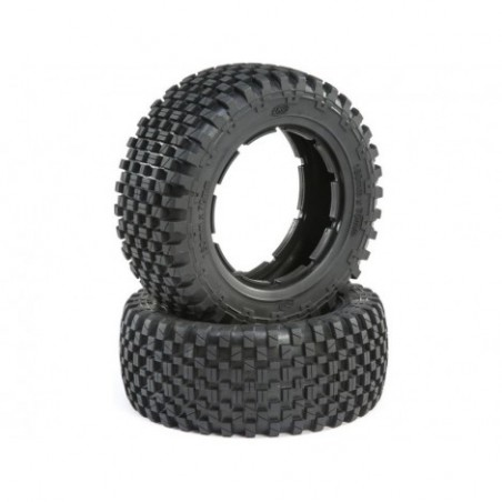 Losi Tire Set, Firm (2):...