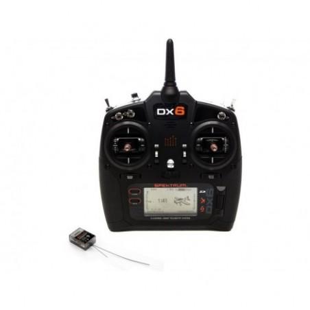 Spektrum DX6 G3 DSMX, AR6600T