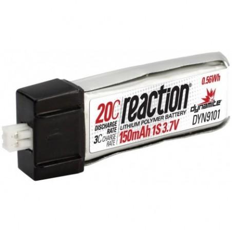 3.7V 150mAh 1S 20C LiPo: Micro