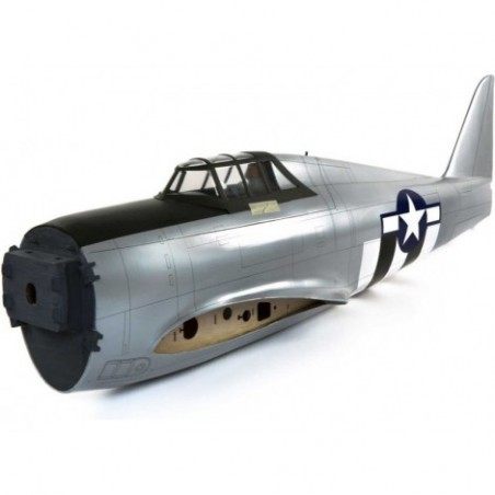 Fuselage with Hatch: P-47D...