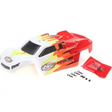 Losi Body, Red/White:...
