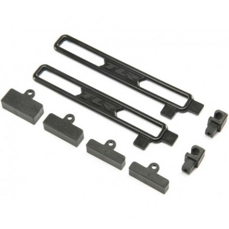TLR Battery Mount Set: 22X-4