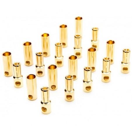 Gold Bullet Connector Set,...