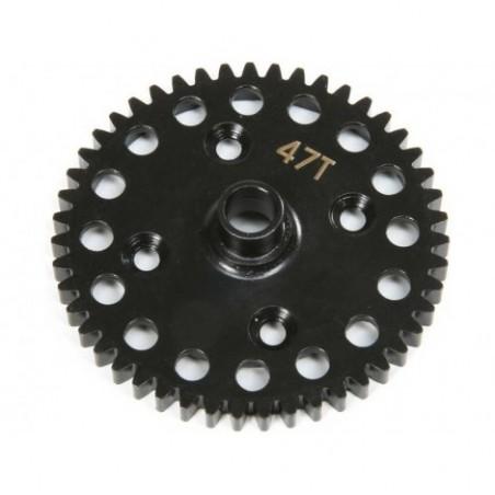 TLR Center Diff 47T Spur Gear. Lightweight: 8X