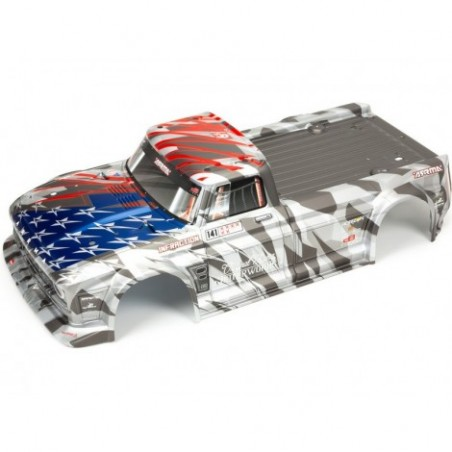 Arrma Painted Body Silver:...