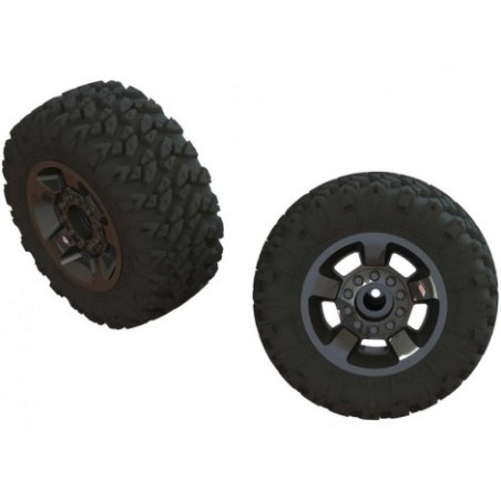Arrma Wheels & Tires,...