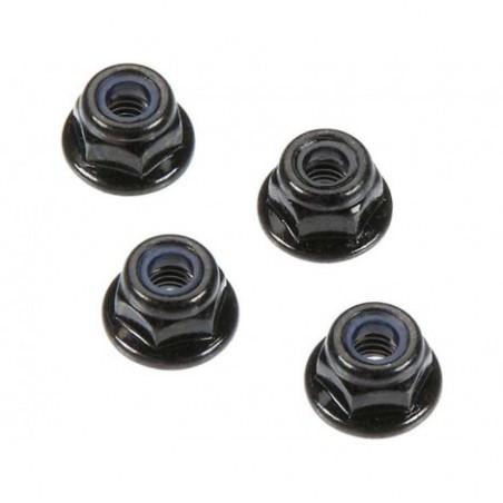 Arrma Flange Lock Nuts 4mm (4)