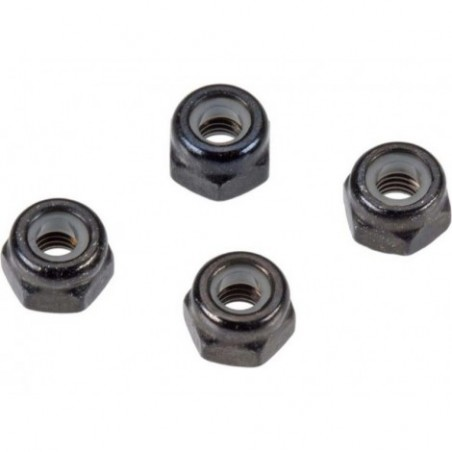Arrma Nylon Nut 3mm (4)