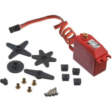Arrma ADS-15M V2 15kg Waterproof Servo Red