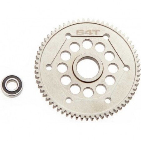 Axial Steel Spur Gear 32DP 64T
