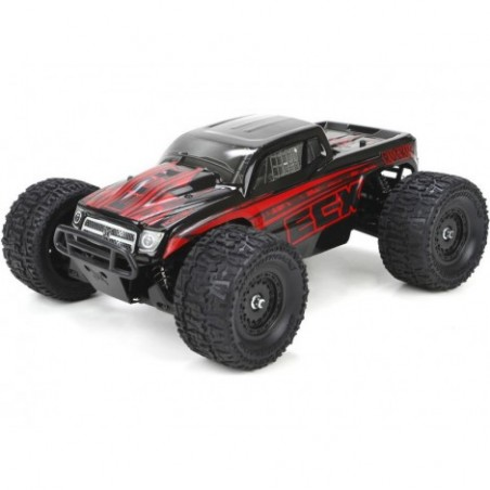 Ruckus 4WD Monster Truck RTR (must/punane)