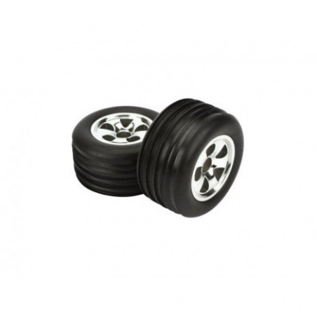 Mounted Front Tire (2),...