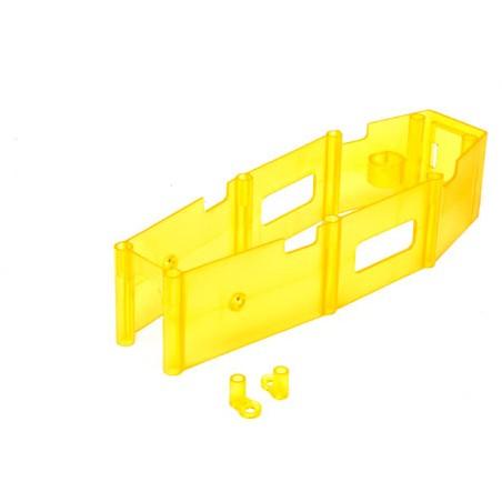 Frame Skirt, Yellow:...