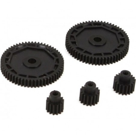 Pinion & Spur Gear Set:...