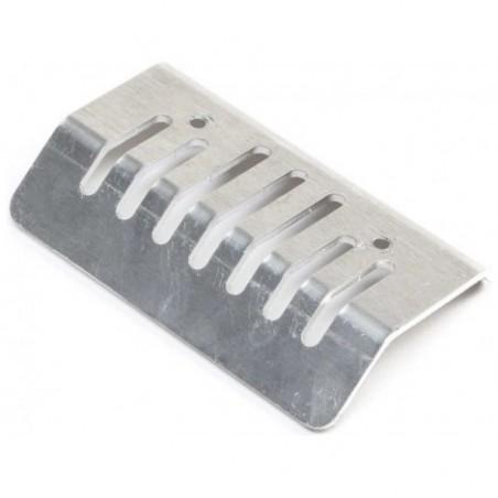 Rear Bumper, Aluminum:...