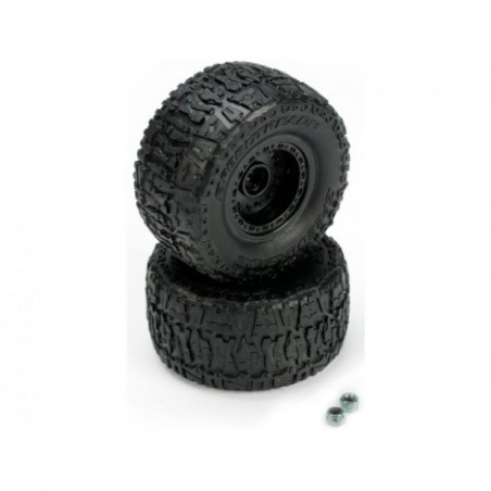 Pre-Mount Rear Tire Set (2)...