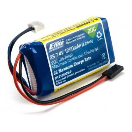 LiPo Rx Pack 1250mAh