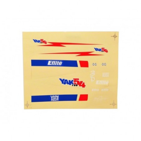 Decal Sheet: UMX Yak 54 180