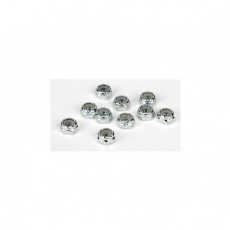 8-32 Steel Lock Nuts (10)