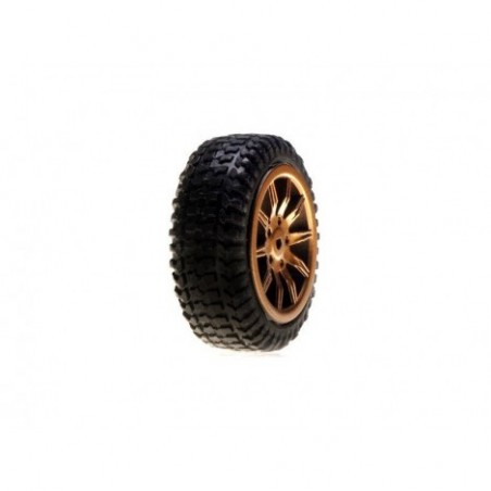 Tires, Mounted, Gold: Micro...