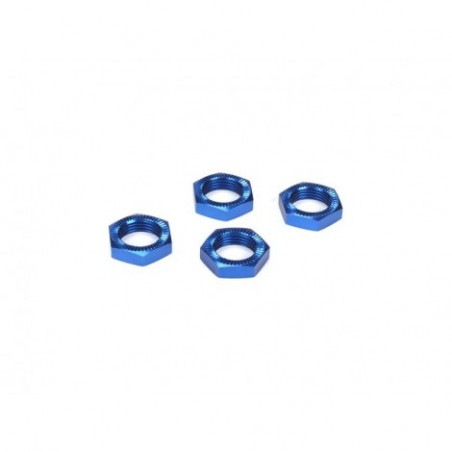 Wheel Nuts, Blue Anodized...