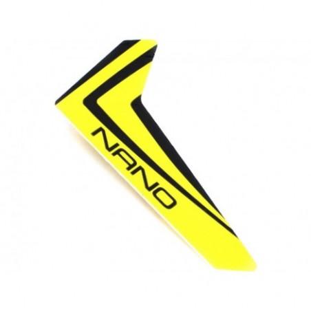 Yellow Vertical Fin...
