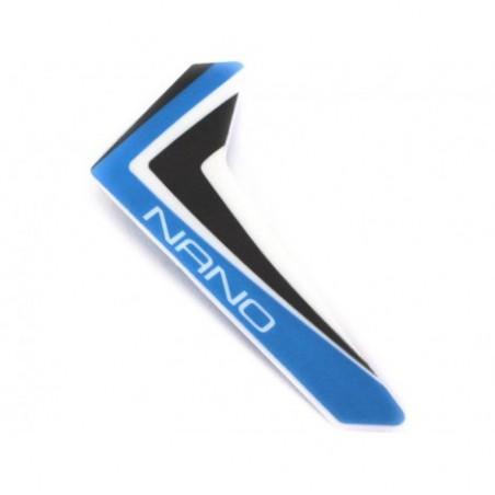 Blue Vertical Fin w/decal: nCP X