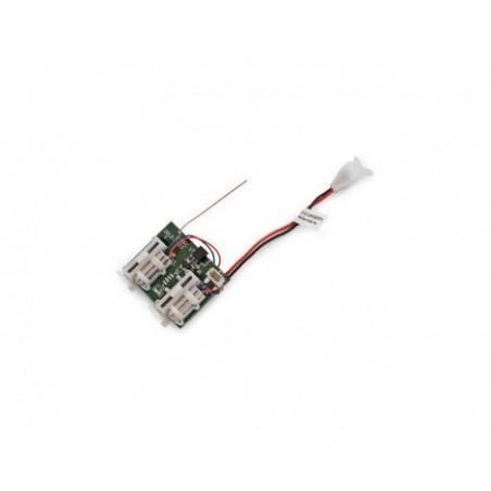 3-Ch Rx/ESC w/LED Port:...