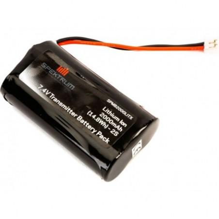 2000 mAh TX Battery:...