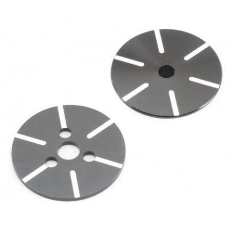 Grooved Slipper Plate Set:...