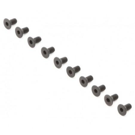 Flat Head Screws, M3 x 6mm...