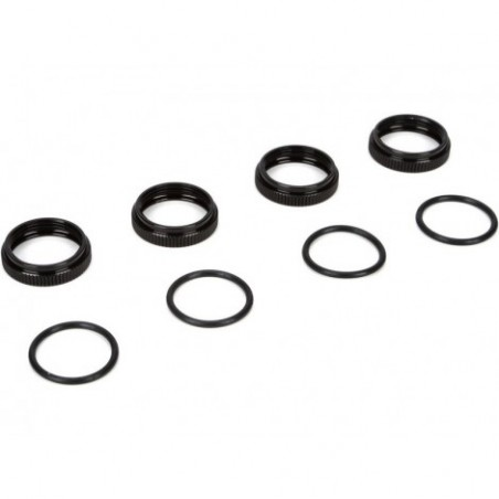 16mm Shock Nuts & O-rings:...