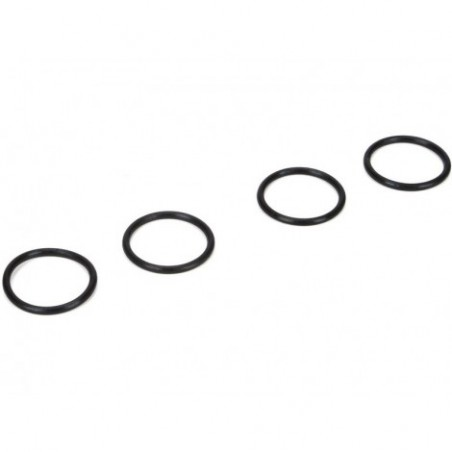 16mm Shock Nut O-rings (4):...